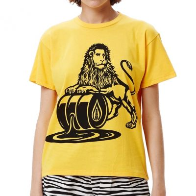 Obey Wms Oil Lion Sustainable T-Shirt