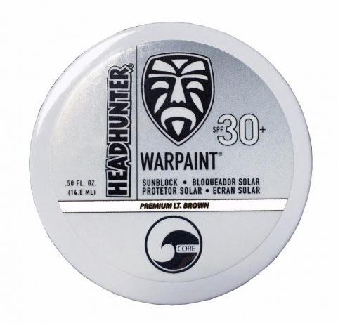 Headhunter War Paint SPF 30 - Light Brown