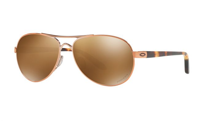 Oakley Wms Tie Breaker - Rose Gold/Prizm Tungsten Polarized