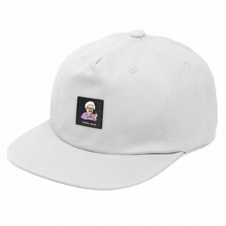 Brother Merle Betty 5 Panel Cap - White
