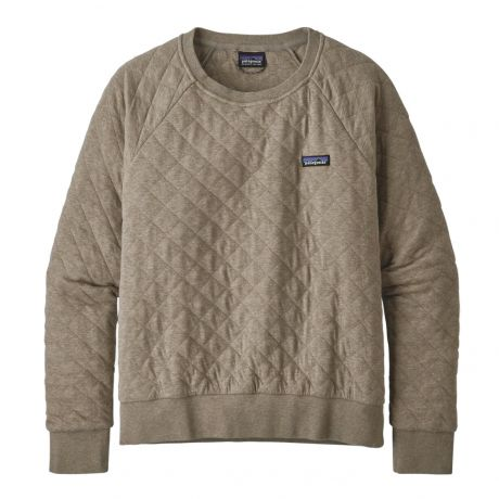 Patagonia Wms Organic Cotton Quilt Sweater