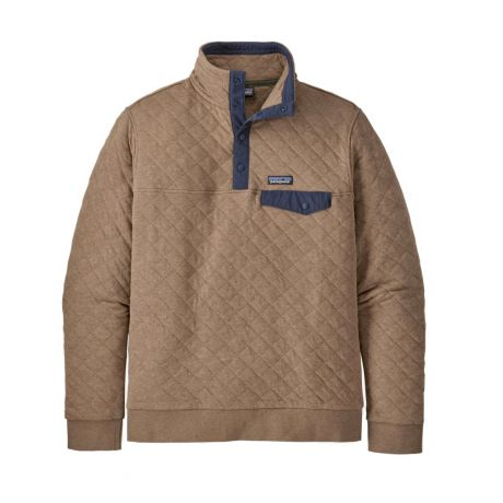 Patagonia Organic Cotton Quilt Snap-T Fleece
