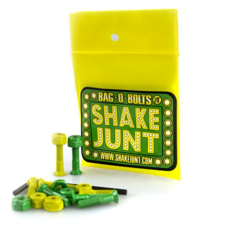 Shake Junt Green And Yellow Bolts