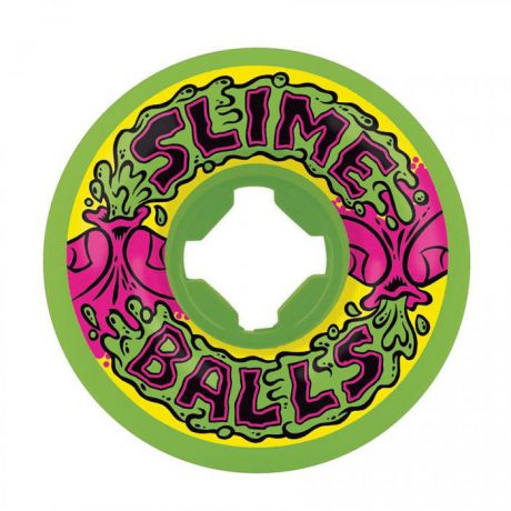 Slime Balls Vomit Mini Squirt [97A 56mm] - Neon Green