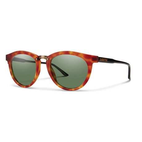 Smith Wms Questa - Matte Honey Tortoise/Black/ChromaPop™ Polarized Gray Green