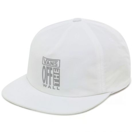 Vans [AVE] Lockup Shallow Unstructured Cap - White
