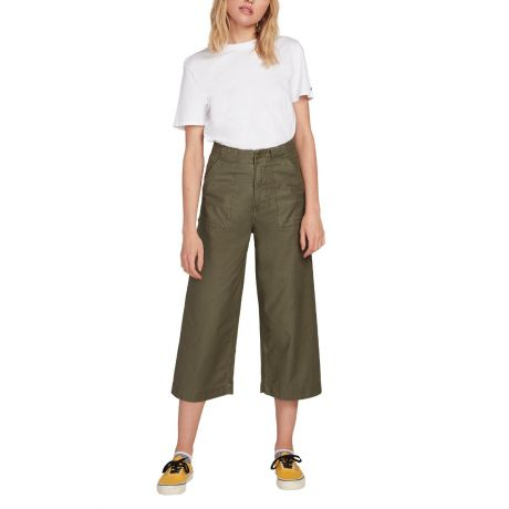 Volcom Wms Army Whaler Wide Leg Pant